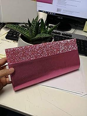 LeahWard Womens Clutch Bag Wedding Evening Glitter Patent Handbags 2083