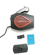 2 in 1 12V Auto Car Heater Defroster Portable Heating Fan- Cooling Demister with Swing-out Handle