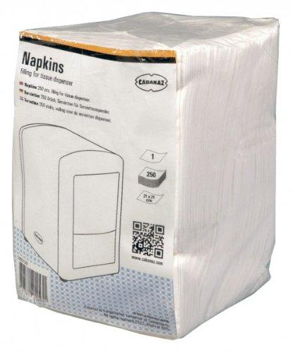 Cabanaz Set of 4Packs of 250Napkins Dispenser MIK funshopping