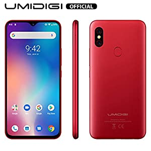 "41 W7jnTKoL. SS300  - UMIDIGI F1 Factory Unlocked Phone Android 9.0 6.3"" FHD+ 128GB ROM 4GB RAM Helio P60 5150mAh Big Battery 18W Fast Charge Smartphone NFC 16MP+8MP Phone(Red)  UMIDIGI F1 Factory Unlocked Phone Android 9.0 6.3″ FHD+ 128GB ROM 4GB RAM Helio P60 5150mAh Big Battery 18W Fast Charge Smartphone NFC 16MP+8MP Phone(Red) 41 W7jnTKoL"