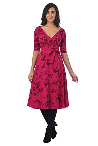 Poplin Wrap Dress - 4