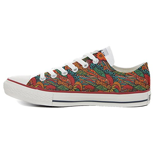 Artigianale Prodotto Personalizzate Slim Infinity Unisex Sneaker Shoes Converse all Star Make Your Texture ZzxOqvw