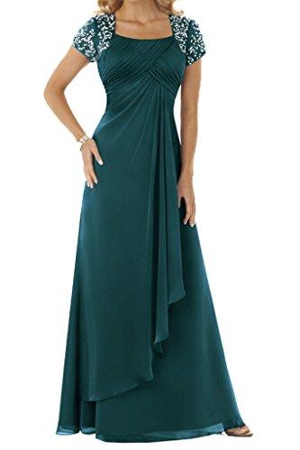 Ivydressing - Vestido - trapecio - para mujer Dunkelgruen