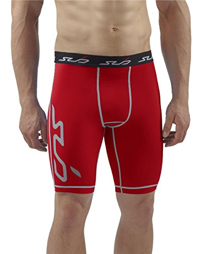 Sub Sports Mens Compression Running Shorts Trunks Knee Length Base Layer -XXL