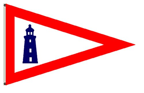 Fyon United States Historical Banner Former Federal Flags Pennant Of The United States Lighthouse Service  1939  Flag 3X5ft