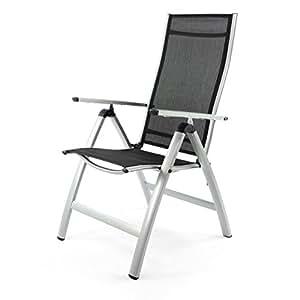 Nexos zgc34483 silla plegable de jard n aluminio color for Sillas jardin amazon