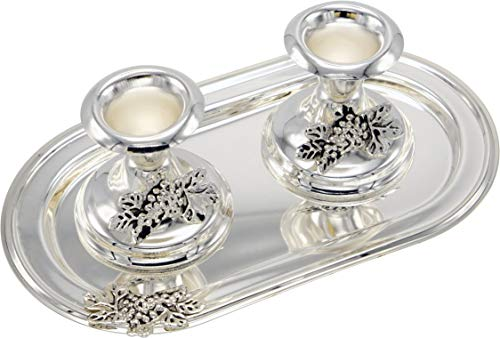 Silver Plated Set of 2, 2 3/4