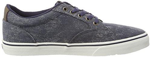 Blue Blau uomo Vans Washed Winston V4mhiln blu Sneakers da PxqOYTzOwa