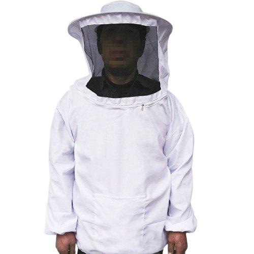 Bee Keeper Costume (I-MART Professional Beekeeping Jacket Veil Bee Protecting Suit Smock Dress Equipment)