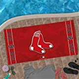 Boston Red Sox MLB WinCraft 30 X 60 Red Beach Towel