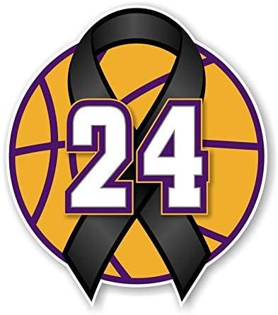 24 Kobe Rest in Peace Precision Cut Decal