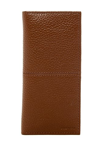 Mens Breast Pocket Wallet - Cole Haan Men's Leather Breast Pocket Wallet, One Size (Cognac)