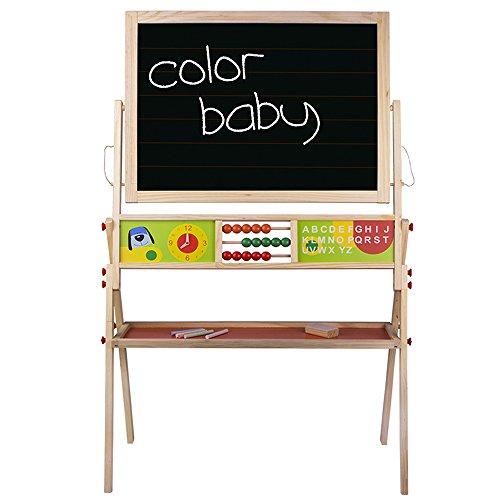 ColorBaby Pizarra madera de tiza y magnética (42149)