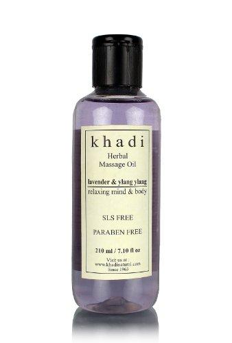 Khadi Lavender and Ylang Ylang Massage Oil, 210ml