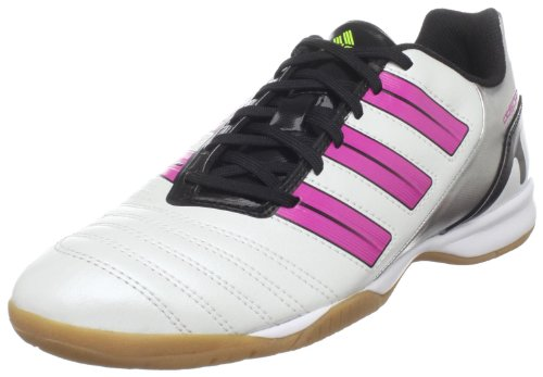 Scarpa Da Calcio Adidas Predito Trx In W Predator Da Corsa Bianca Metallizzata / Rosa Intenso / Melma