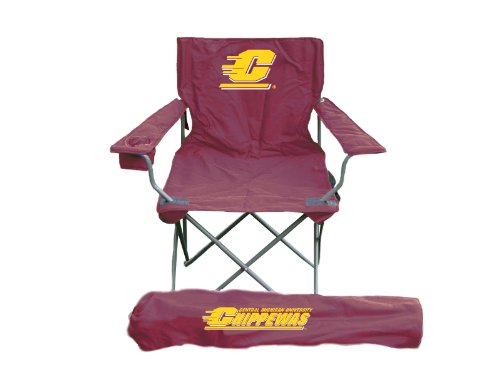Rivalry NCAA Central Michigan Chippewas Folding Chair With Bag (Central Furniture)