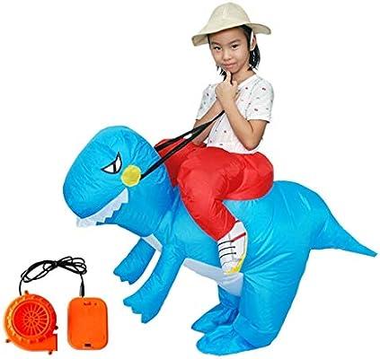 LEZDPP Inflables Dinosaurios Disfraces de Halloween Traje Adulto ...