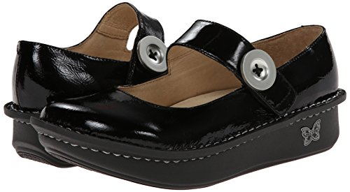 Pictures of Alegria Women's Paloma Flat Black Nappa 37 M EU 4