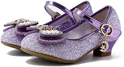 0f0ef51d8acc Fashion Shoebox Girl s Princess Cosplay Performance Shoes Sequins Wedding  Dress Shoes Low Heeled