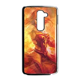 Popular And Durable Designed TPU Case with dota 2 LG G2 Cell Phone Case Black