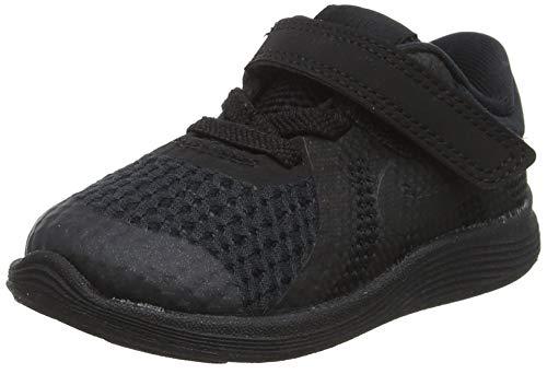 Nike Boys' Revolution 4 (TDV) Running Shoe, Black, 5C Regular US Toddler (Nike Boys Infant Shoes)