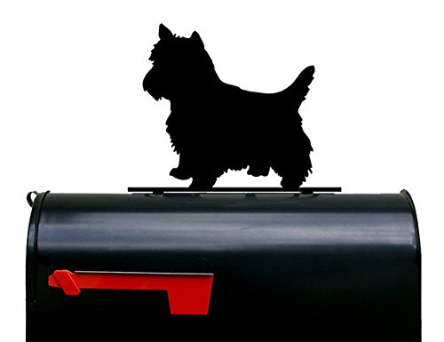 NewnanMetalWorks Yorkshire Terrier Dog Mailbox Topper/Sign by NewnanMetalWorks