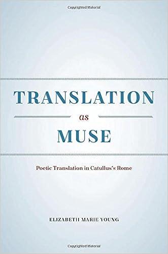 Amazon com: Translation as Muse: Poetic Translation in