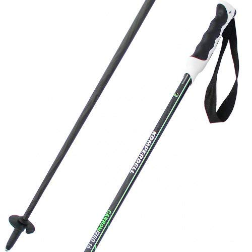 Komperdell Carbonized 16 Black/Green (2018/19) Skistocklänge (Paar) 125 cm