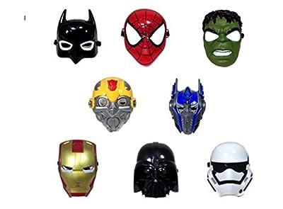 Marvel Superhero The Avengers Costume LED Light Eye Mask