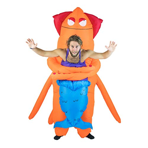 (Bodysocks Inflatable Squid Mermaid Costume)