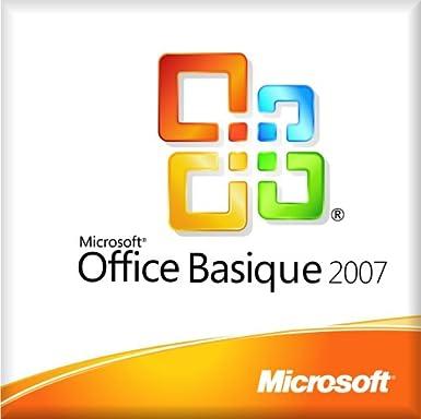 Microsoft Office Basic 2007, V2, Win32, 1pk, w/OfcPro2007Trial MLK, OEM, FR - Suites de programas (V2,