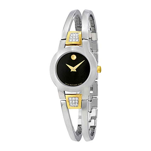 - Movado Women's Swiss Quartz Stainless Steel Casual Watch (Model: 0606894)