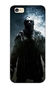 Premium Protection Horror Forest Mist Jason Friday The 13th Killers Case Cover With Design For Iphone 6 Plus- Retail Packaging