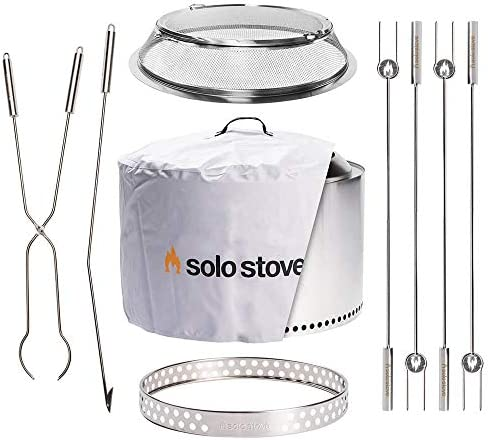 Solo Stove Ultimate Yukon Bundle Includes Yukon 27″ Stand