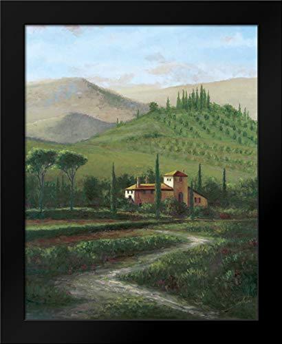 (Villa at Stia Framed Art Print by Sambataro)