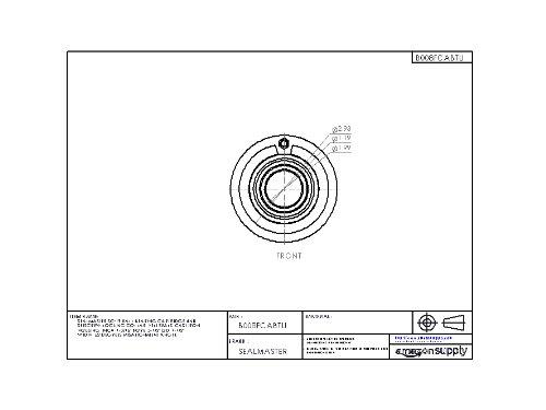 Setscrew Locking Collar Felt Seals Sealmaster SC-35 Ball Bearing Cartridge Unit 2-3//16 Bore /±2 degrees Misalignment Angle Cast Iron Housing 2-3//16 Width Inch 4-15//16 OD