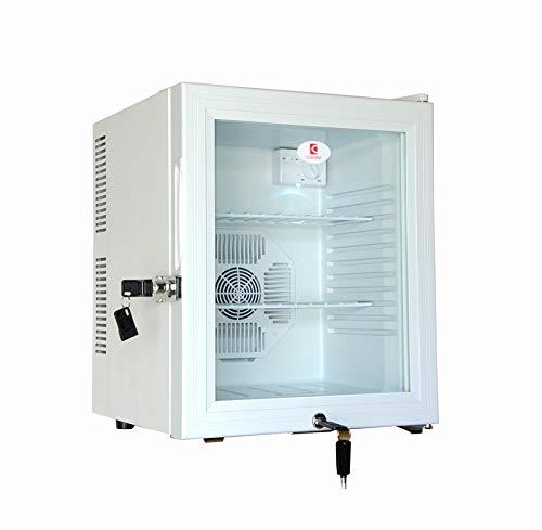 refrigerador de la Puerta de Vidrio Bloqueado Capacidad de 30 ...