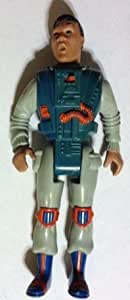 """1988 The Real Ghostbusters Screaming Heroes Winston Zeddmore 5"""" Figure"""