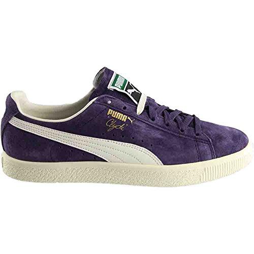 Puma Donna Cesto Classico Metallico Wns Fashion Sneaker Dolce Uva / Whisper Bianco