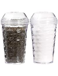 Win 1 X Household Kitchen Tools - Textured Plastic Salt & Pepper Shaker Sets by Cooking Concepts cheapest