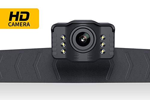 Car Backup Camera Rearview Parking Vehicle S2 Camera by Xroose High Definition 6 infrared LED lights for Night Vision IP69K Waterproof Rate License Plate Mounted Optimum 149˚ Wide View Focus for Safty by Xroose (Image #1)