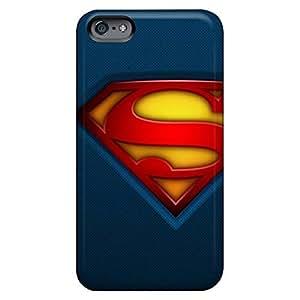 Eco-friendly Packaging phone cases Fashionable Design covers iphone 5c case 6p - dc comics superman logos superman logo