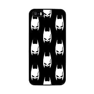 Funda carcasa para Apple iPhone 5 5S estampado Batman superhéroe borde negro