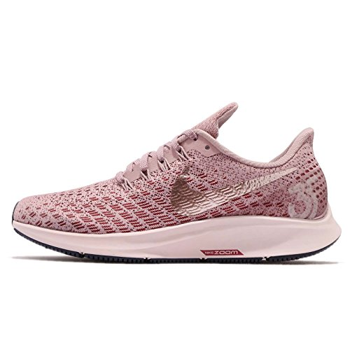 Nike Womens Air Zoom Pegasus 35 Running Shoes (6.5 M US, Elemental Rose/Barely Rose-Vintage Wine)