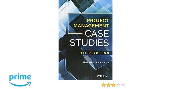 Pdf studies kerzner project management harold case