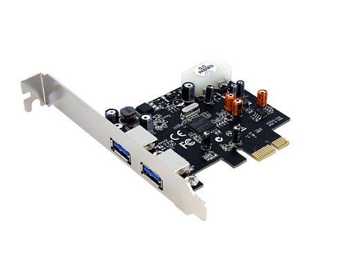 StarTech.com 2 Port PCI Express SuperSpeed USB 3.0 Card Adapter PEXUSB3S2 by StarTech