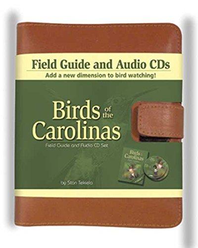 Birds of the Carolinas Field Guide and Audio CD Set