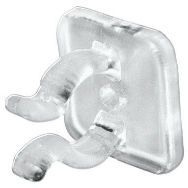 Dyno Seasonal Solutions 25 Count Mini Light Adhesive Clip For Windows & Flat Surfaces