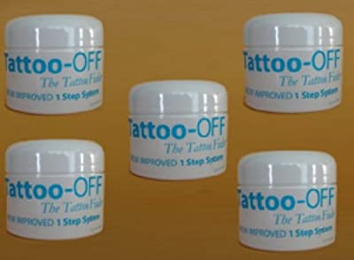 Tattoo-Off Tattoo Off Removal System 5 Month Supply