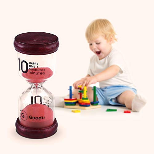 J house lifestyle GD-2018002 Visual Timer for Kids Hour glass for Classroom Home Office Decor Pack of 6 6 Colors Sand Timers for kids Goodii time timer Hourglass Timer 1//3//5//10//15//30 minutes
